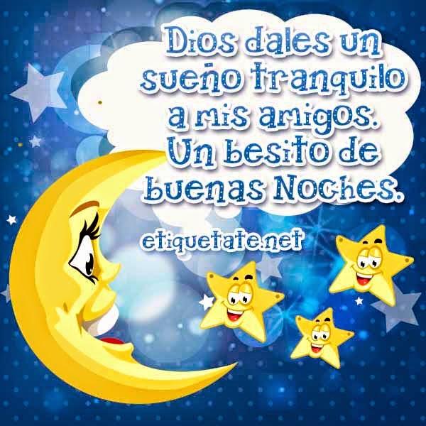Frases de buenas noches y bendiciones en imagenes