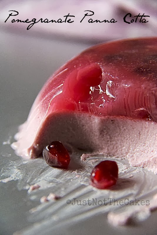 Pomegranate Pannacotta