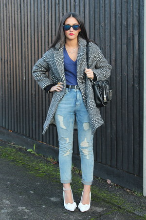 Thrift Inspiration...... Isabel Marant Bator Tweed Coat Style ...