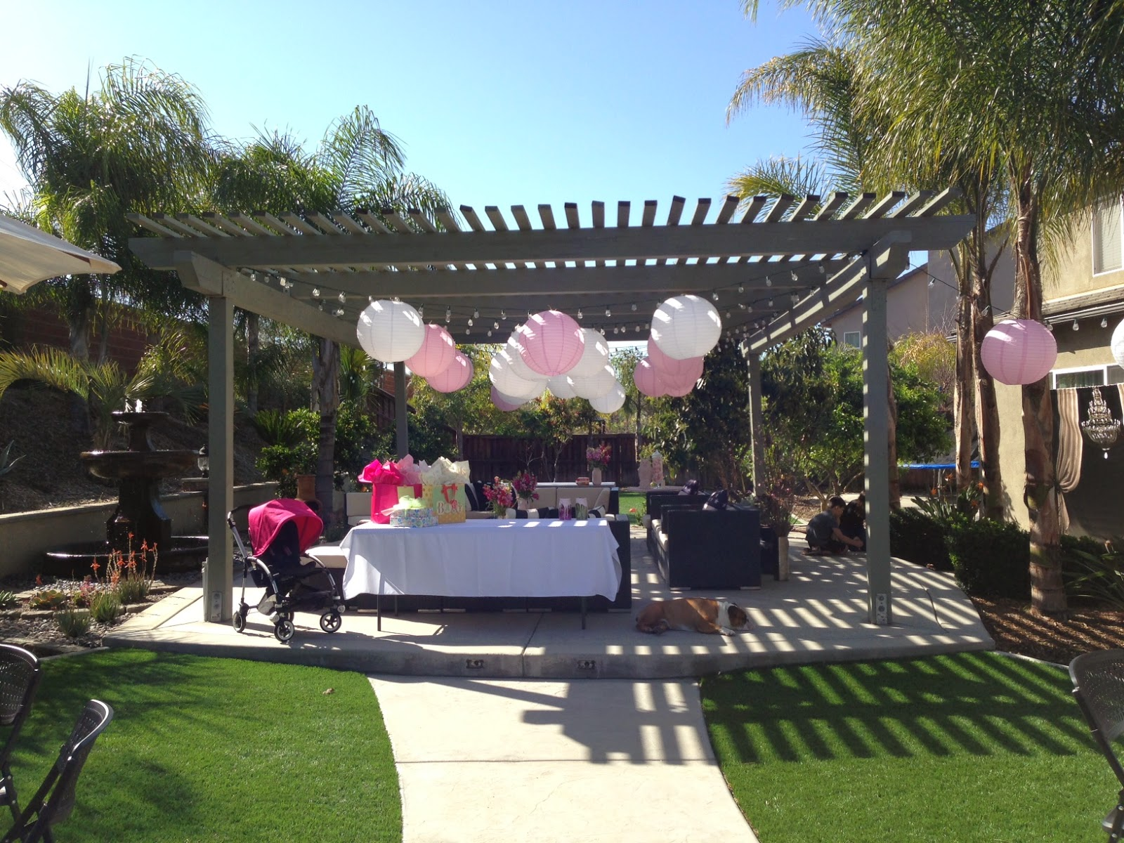 the lilac project a rustic pink baby shower