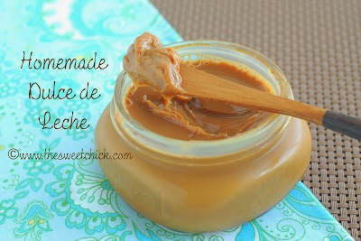 Homemade Dulce de Leche - The Sweet Chick