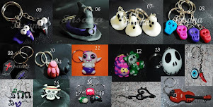 Chaveiros em Toy Art