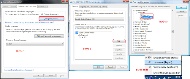 Phần mềm gõ tiếng Nhật dành cho tất cả các hệ điều hành