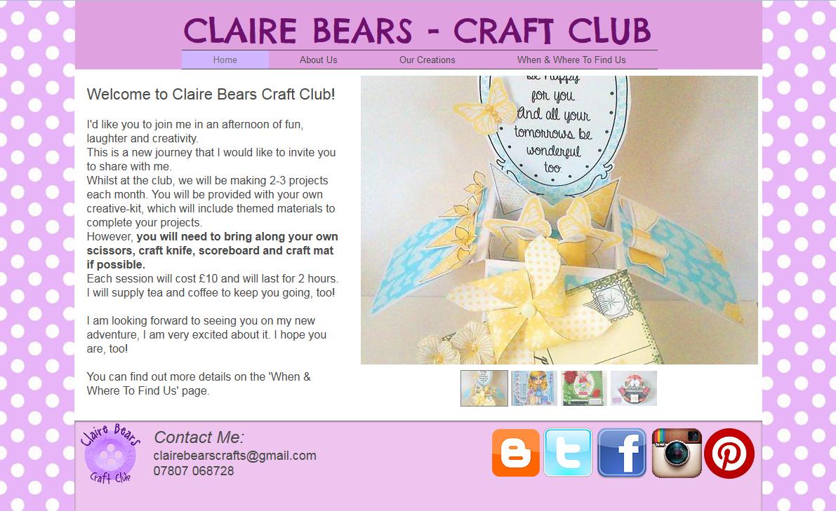http://www.clairebearscraftclub.com/