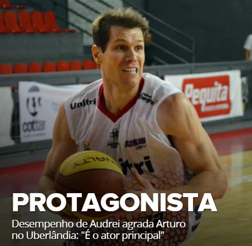 Arturo Alvarez diz que Audrei é o protagonista
