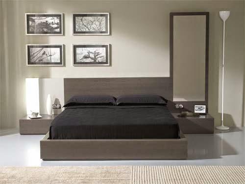 exotic comfortable bedroom design model