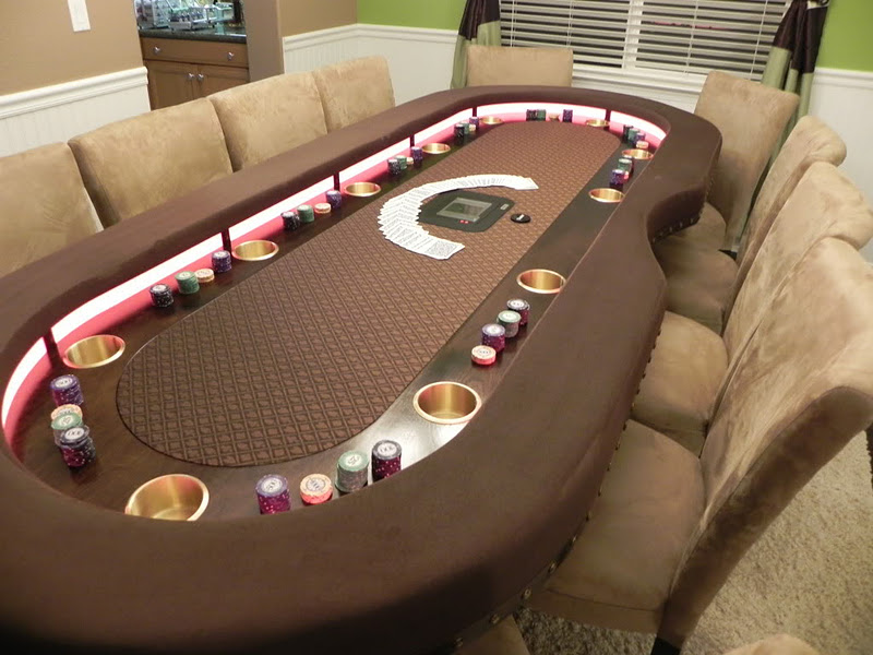 World Of Mysteries Luxury Poker Dining Table