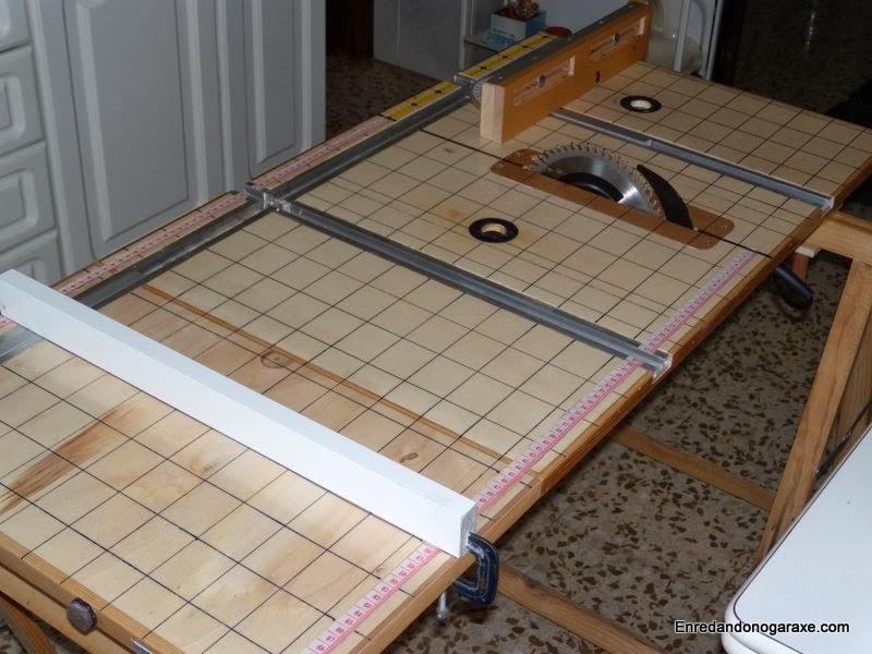 Sierra de mesa multifunción casera. Enredandonogaraxe.com