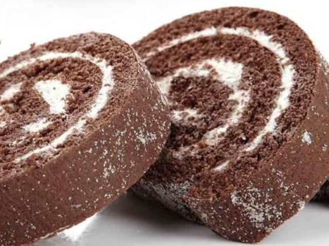 Resultado de imagen para brazo gitano de chocolate con crema