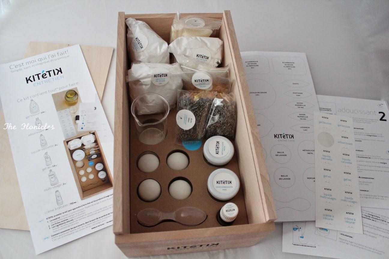 The flonicles slow attitude kit tik entretien le kit pour fabriquer ses p - Fabriquer ses produits d entretien ecologiques ...