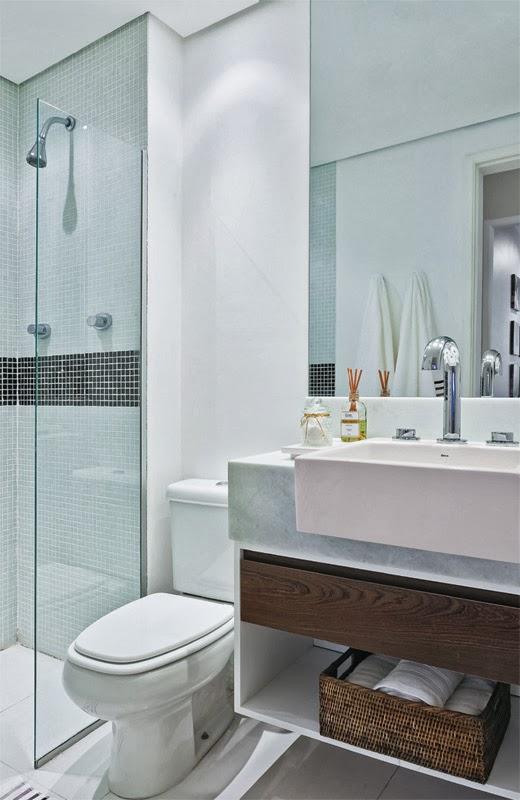 Vamos Casar Apartamento decorado 70m²  Casa Nova -> Banheiro Pequeno Metragem
