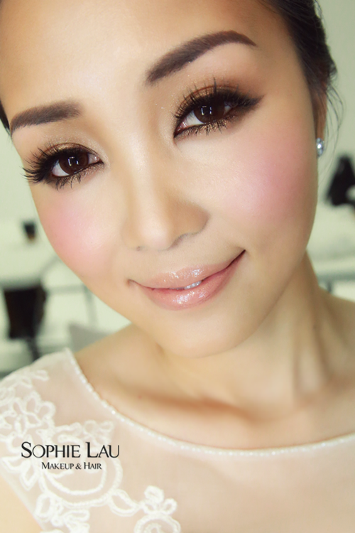 Asian wedding hair and makeup