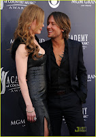 Keith Urban with ACM Awards 2011! :Nicole Kidman