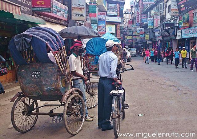 Rickshaw-Katmandu