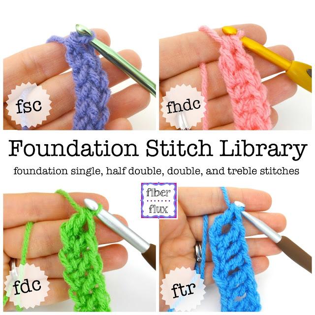 Fiber Flux: Chainless Foundation Stitch Library