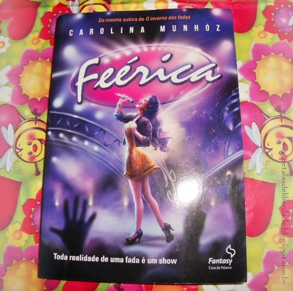 Feérica, Carolina Munhóz, Fantasy - Casa da Palavra, capa, livro, sinopse