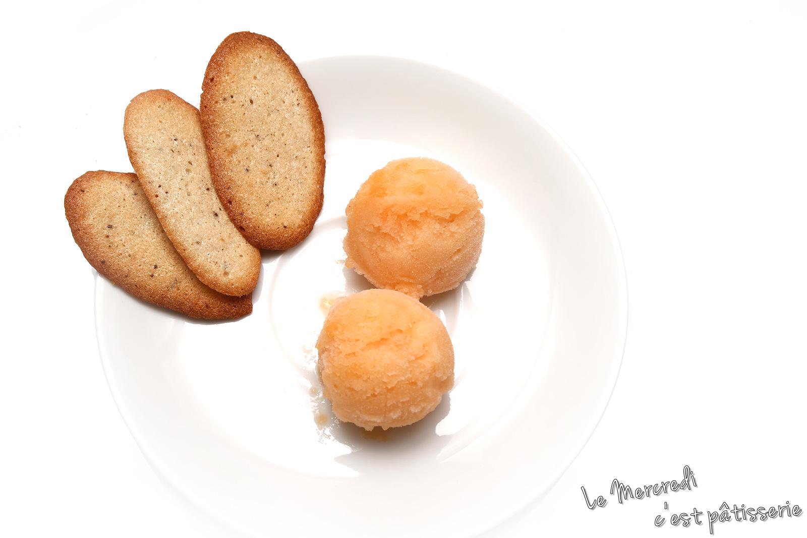 Sorbet au melon - Glace au melon avec sorbetiere ...
