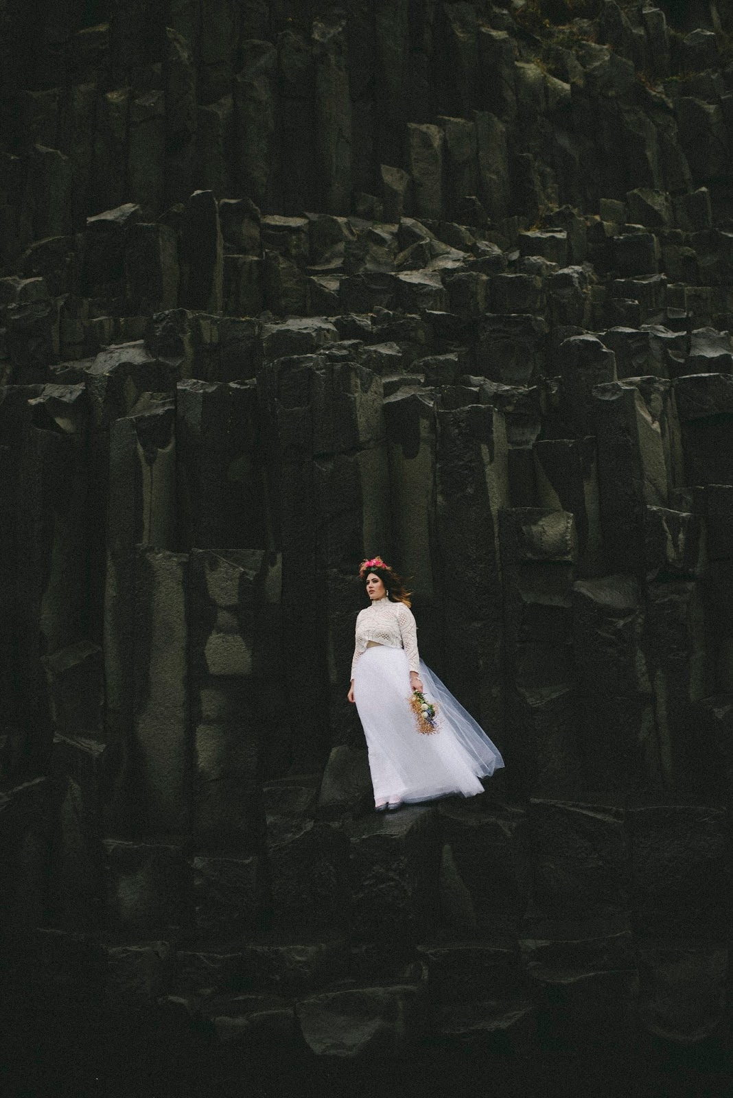 vik, wedding, beach, elope, marriage, Iceland