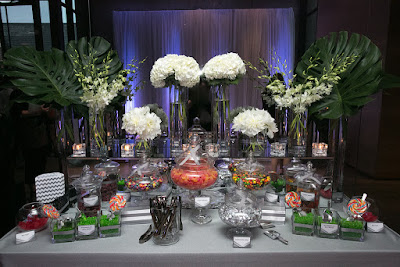 Modern Candy Buffet by Cara Mia Events