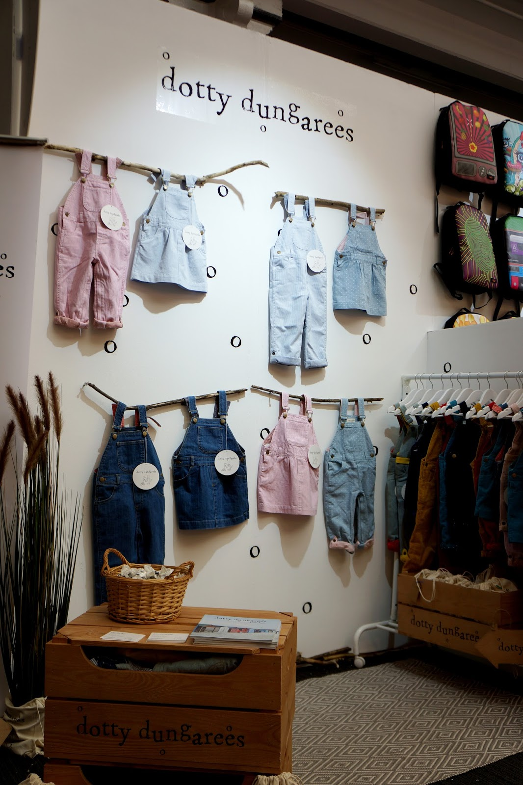dotty dungarees at bubble london 2015