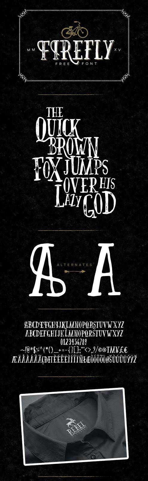 font, günün fontu, font indir, font dosyası indir, bedava font indir, kaliteli font indir, firefly font indir,