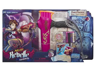 TOYS : JUGUETES - NERF Rebelle Charmed - Everfierce | Arco - Bow Producto Oficial 2015 | Hasbro B1697 | A partir de 8 años Comprar en Amazon España & buy Amazon USA