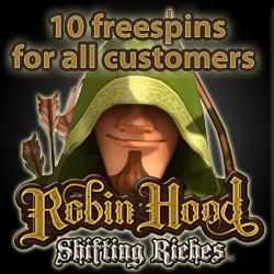 netent casino free spins robin hood