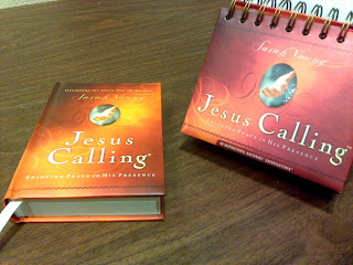 Jesus Calling book and calendar