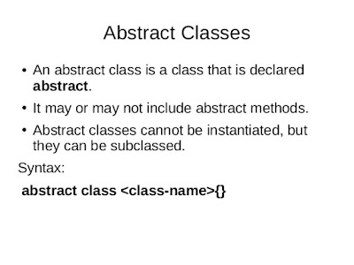 Can we declare constructor in abstract class in Java