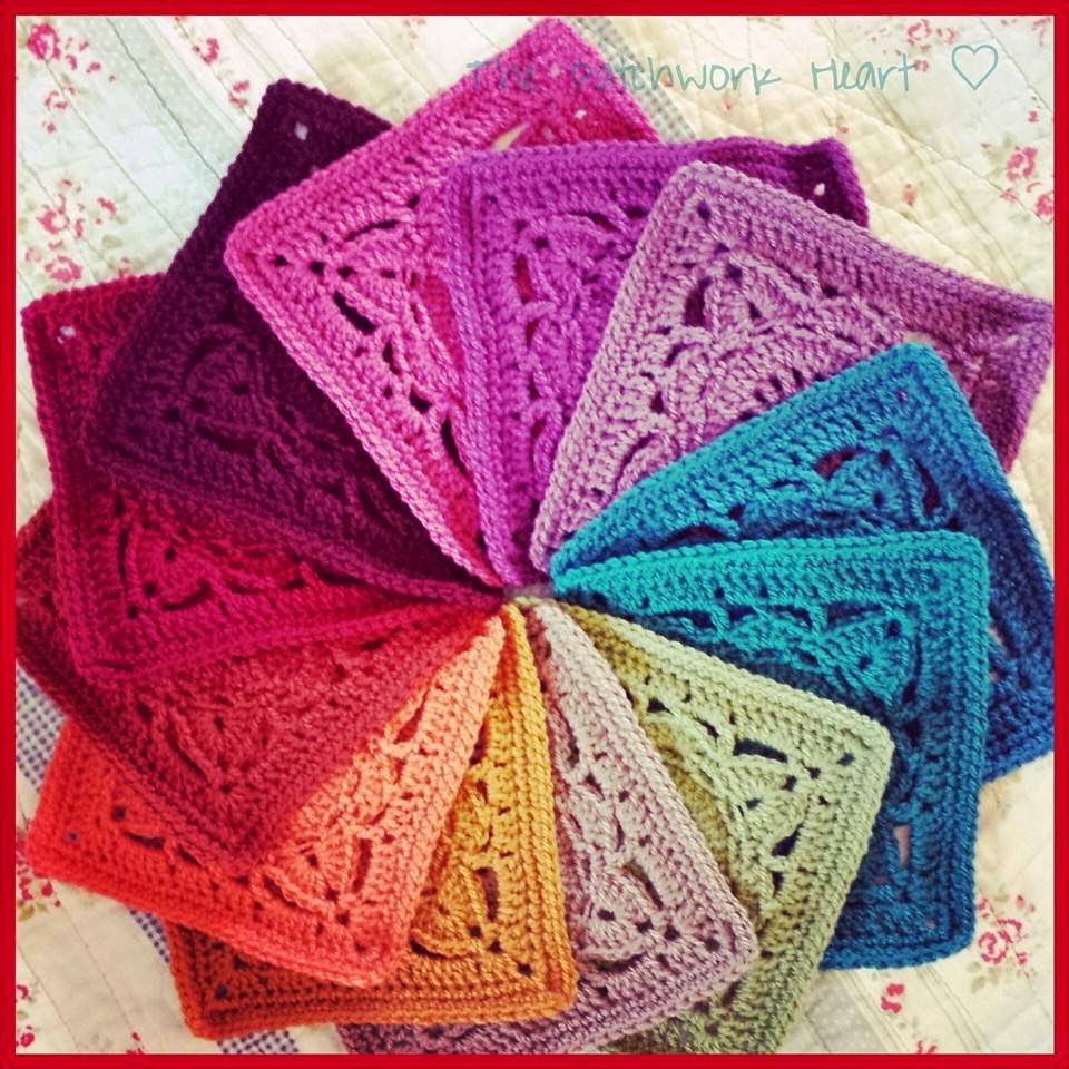 The Patchwork Heart Willow Blanket Tadaa