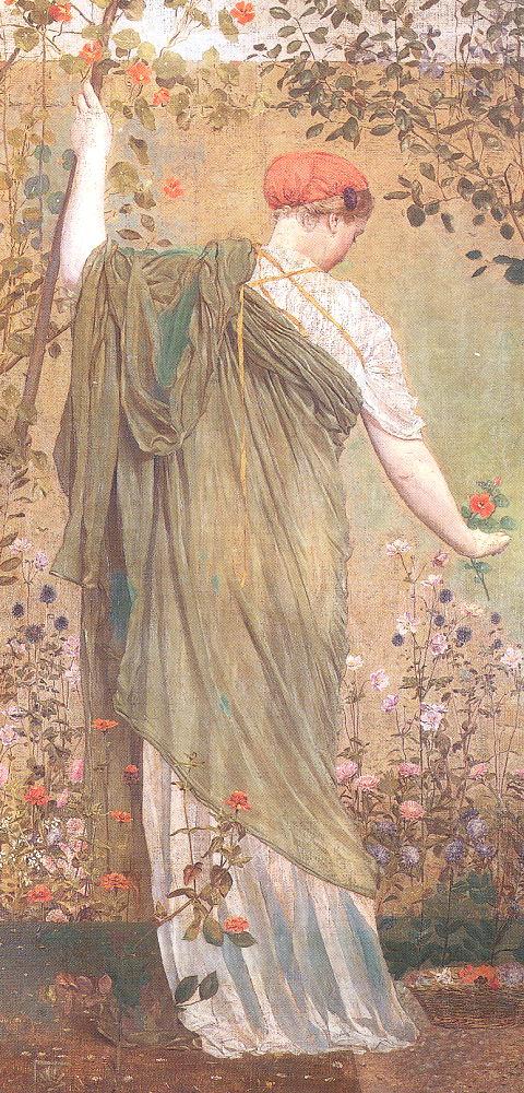 albert moore garden