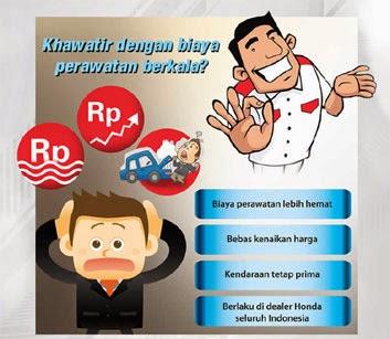 Paket Perawatan Berkala Honda Bandung