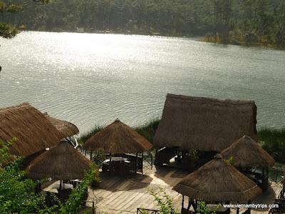 Dalat city - Da Tien resort on Tuyen Lam lake