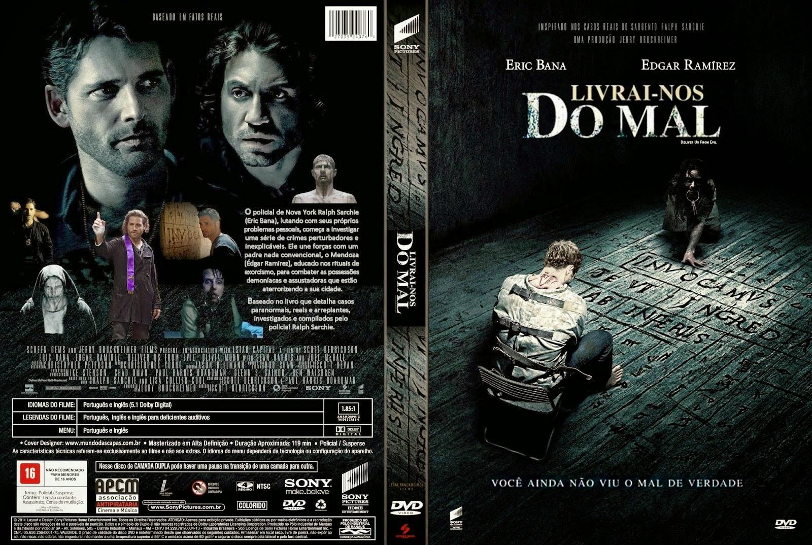 Download Livrai-nos do Mal BDRip XviD Dual Áudio Livrai Nos Do Mal Capa Filme DVD
