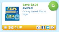 $2.00 off Aleve