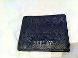 MEN REPLAY WALLET