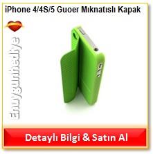 iPhone 4/4S/5 Guoer Mıknatıslı Kapak