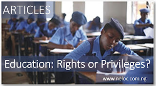 Education: Rights or Privileges?