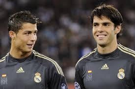 Cristiano Ronaldo dan Kaka