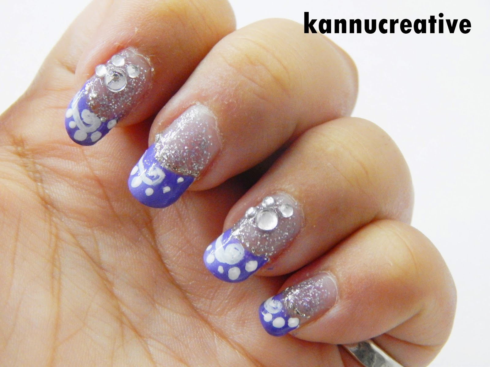 Nail Art Today: Glitter it up Party Nail Art: Design and Tutorials ...