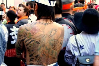 Gambar Tatto Yakuza