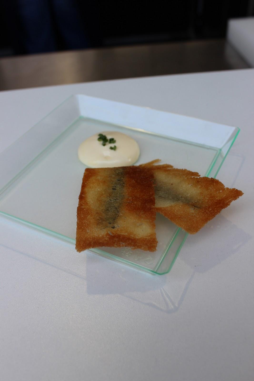 Gastro İstanbul Mikla Balık Ekmek