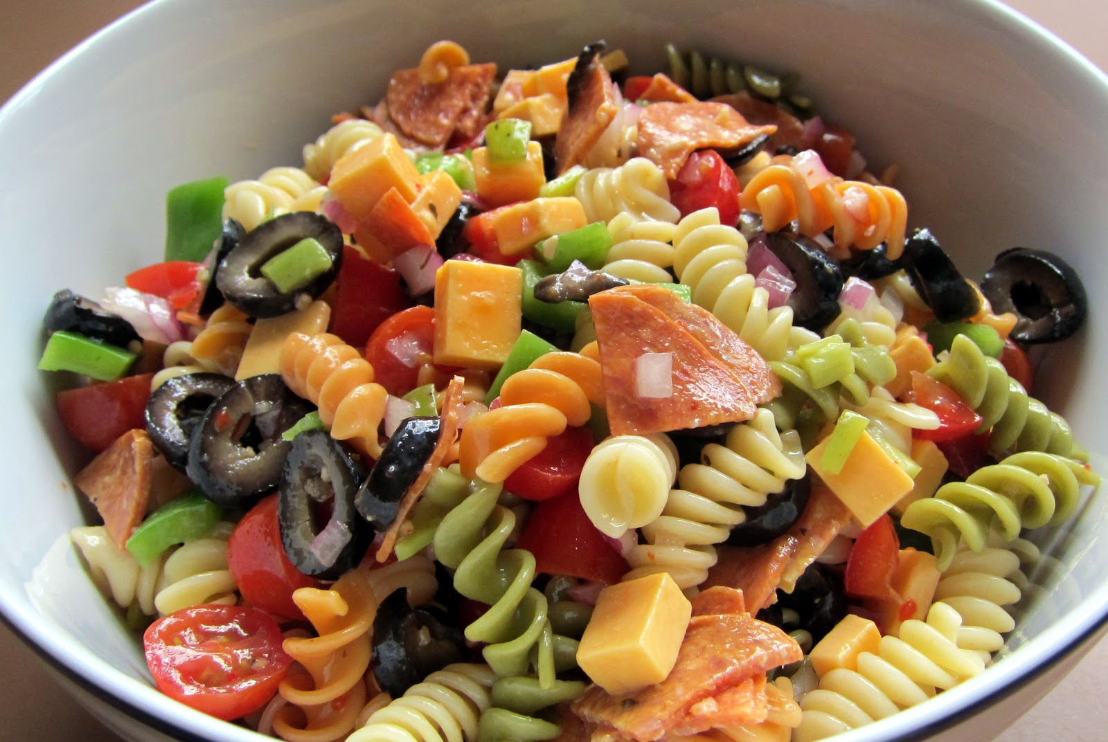 Cooker Girl Pasta Salad