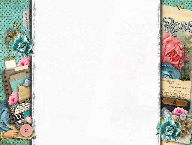 Sweetly Scrapped: Free Blog Background, Vintage Fun