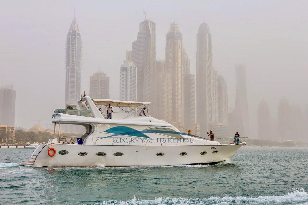 تأجير يخوت في دبي, رحلات بحرية في دبي