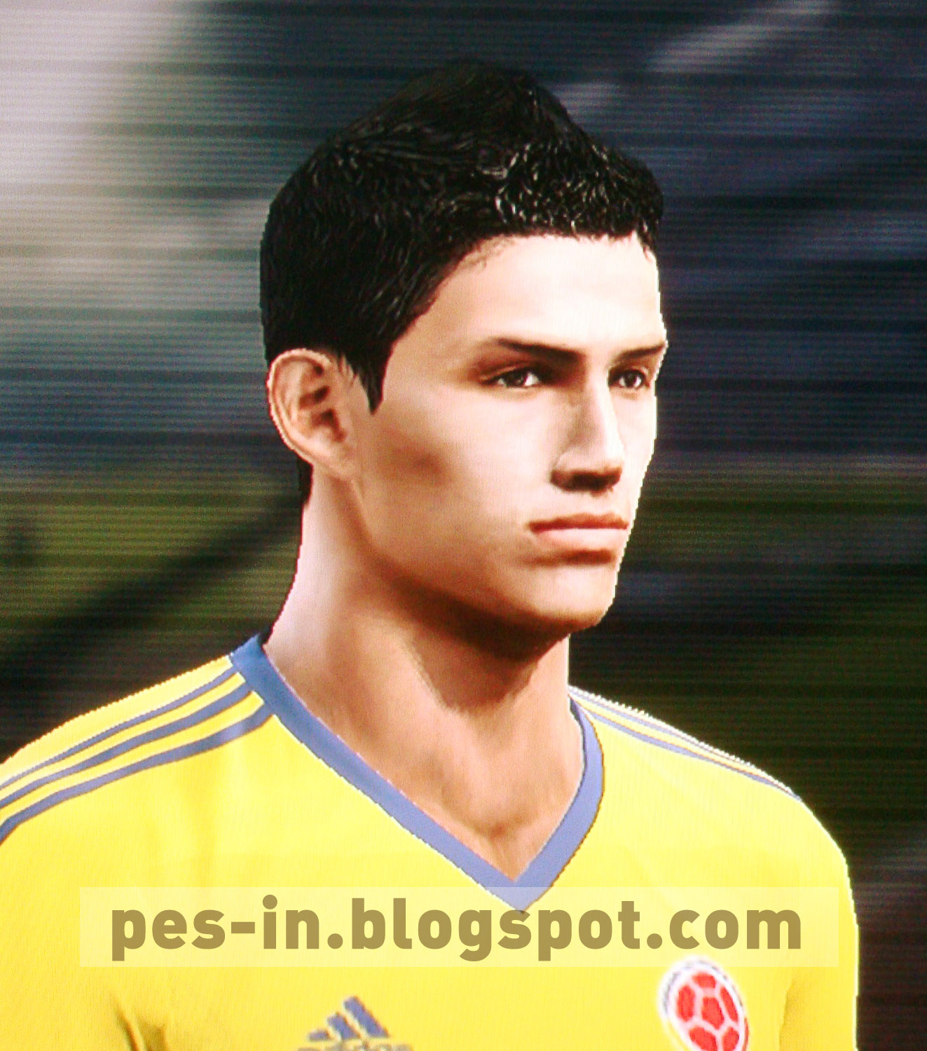 PES IN Pes Faces James Rodriguez