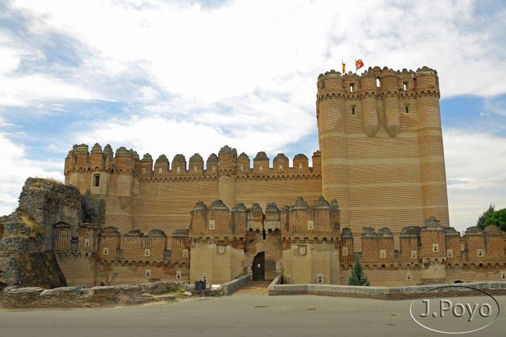 Recorriendo los castillos de la provincia de segovia coca for Ministerio de relaciones interiores espana