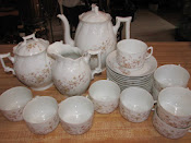 Antique Porcelain Tea Set Bawo & Dotter 1884-1913 Austria