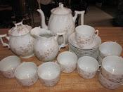 Antique Porcelain Tea Set Bawo & Dotter 1884-1913 Austria