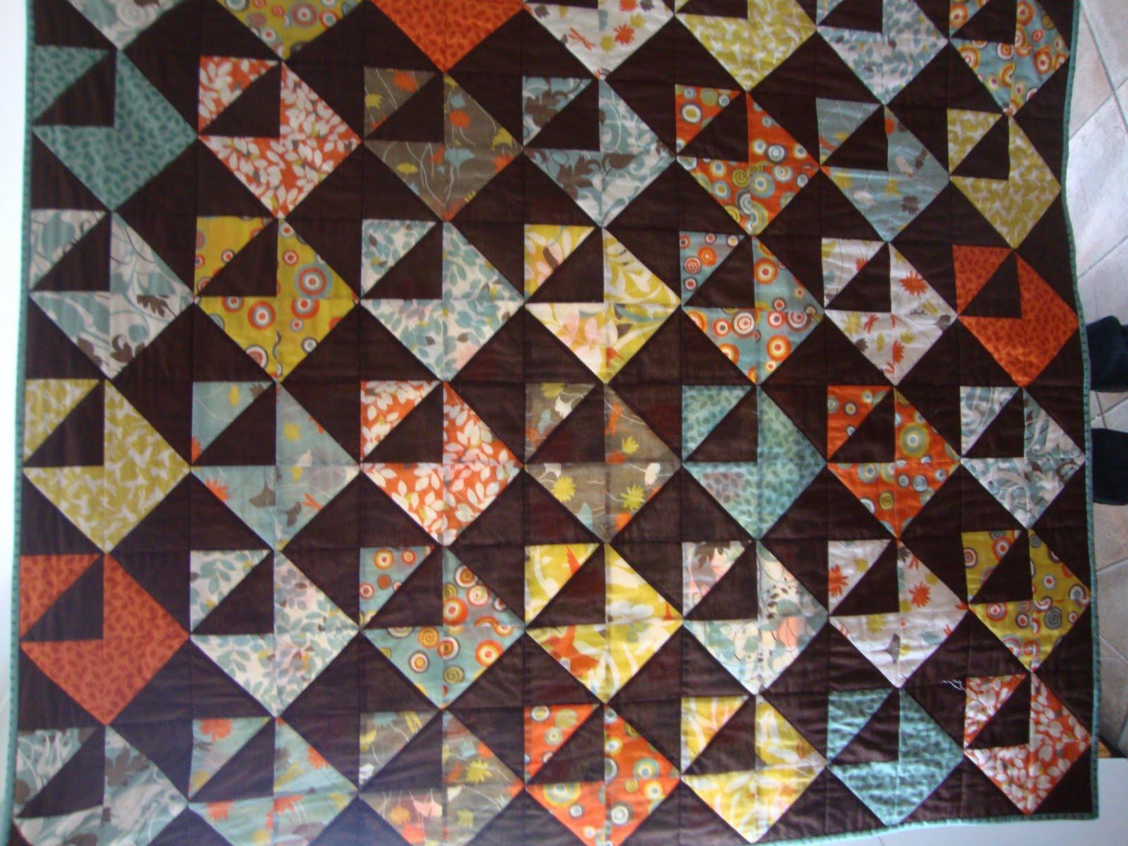 Scissors and Thread: Chocolate Envelope Quilt : envelope quilt pattern - Adamdwight.com